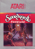 Swordquest: Fireworld (Atari 2600)