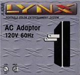 Adapter -- AC Power (Atari Lynx)