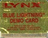 Blue Lightning -- Demo Cart (Atari Lynx)