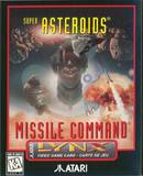 Super Asteroids and Missile Command (Atari Lynx)