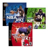 2K1 Sports Game Pack (Dreamcast)