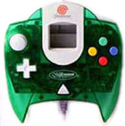 Controller -- Clear Green (Dreamcast)