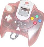 Controller -- Hello Kitty Limited Edition (Dreamcast)