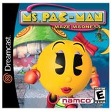 Ms. Pac-Man Maze Madness (Dreamcast)