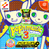 Pop'n Music 3 -- Append Disc (Dreamcast)
