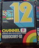 Videocart 12: Baseball (Fairchild Channel F)
