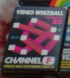 Videocart 20: Video Whizball (Fairchild Channel F)
