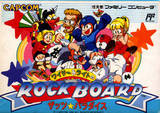 Wily and Light's Rock Board: That's Paradise (Famicom)