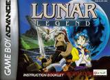 Lunar Legend -- Manual Only (Game Boy Advance)