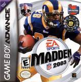 Madden NFL 2003 (Game Boy Advance)