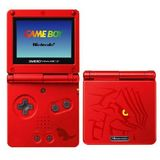 Nintendo Game Boy Advance SP -- Pokemon Groudon Version (Game Boy Advance)
