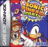 Sonic Pinball Party (Game Boy Advance)