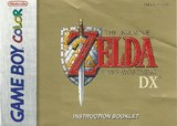 Legend of Zelda: Link's Awakening DX, The -- Manual Only (Game Boy Color)