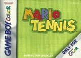 Mario Tennis -- Manual Only (Game Boy Color)