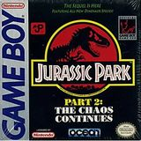 Jurassic Park Part 2: The Chaos Continues (Game Boy)