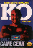 George Foreman's KO Boxing (Game Gear)
