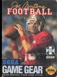 Joe Montana Football (Game Gear)