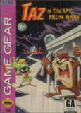 Taz in Escape from Mars (Game Gear)