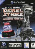 Star Wars: Rogue Squadron III: Rebel Strike -- Preview Disc (GameCube)