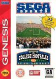 College Football's National Championship (Genesis)