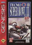 Tecmo Super Bowl III: Final Edition (Genesis)