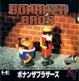 Bonanza Brothers (NEC PC Engine CD)
