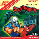 Splatterhouse (NEC PC Engine HuCard)