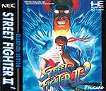 Street Fighter II: Champion Edition (NEC PC Engine HuCard)