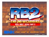 Real Bout Fatal Fury 2: The Newcomers (Neo Geo MVS (arcade))