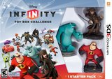Disney Infinity: Toy Box Challenge -- Starter Pack (Nintendo 3DS)