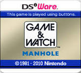 Game & Watch: Manhole (Nintendo 3DS)