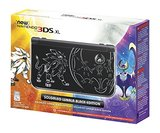 New 3DS XL -- Solgaleo & Lunala Black Edition (Nintendo 3DS)