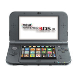 New Nintendo 3DS XL -- Black (Nintendo 3DS)