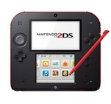 Nintendo 2DS -- Crimson Red (Nintendo 3DS)