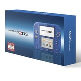 Nintendo 2DS -- Crystal Blue (Nintendo 3DS)