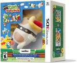 Poochy & Yoshi's Woolly World -- Yarn Poochy Amiibo Bundle (Nintendo 3DS)