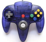 Nintendo 64 Controller -- Grape Purple (Nintendo 64)