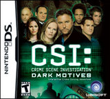 CSI: Dark Motives (Nintendo DS)