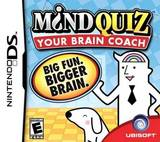 Mind Quiz: Your Brain Coach (Nintendo DS)