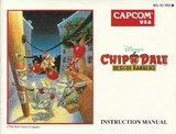 Chip 'N Dale: Rescue Rangers -- Manual Only (Nintendo Entertainment System)