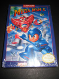 Mega Man 5 -- Box Only (Nintendo Entertainment System)