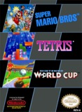 Super Mario Bros./Tetris/Nintendo World Cup (Nintendo Entertainment System)