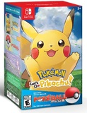 Pokemon: Let's Go, Pikachu! with Pokeball Plus (Nintendo Switch)