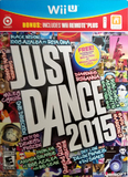 Just Dance 2015 with Wii Remote Plus (Nintendo Wii U)