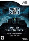 Agatha Christie: And Then There Were None (Nintendo Wii)