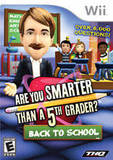Are You Smarter than a 5th Grader?: Back to School (Nintendo Wii)