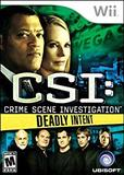 CSI: Deadly Intent (Nintendo Wii)