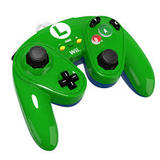 Controller -- PDP Wired Fight Pad - Luigi Edition (Nintendo Wii)