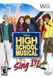 High School Musical: Sing It! (Nintendo Wii)