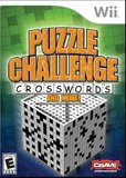 Puzzle Challenge: Crosswords And More! (Nintendo Wii)